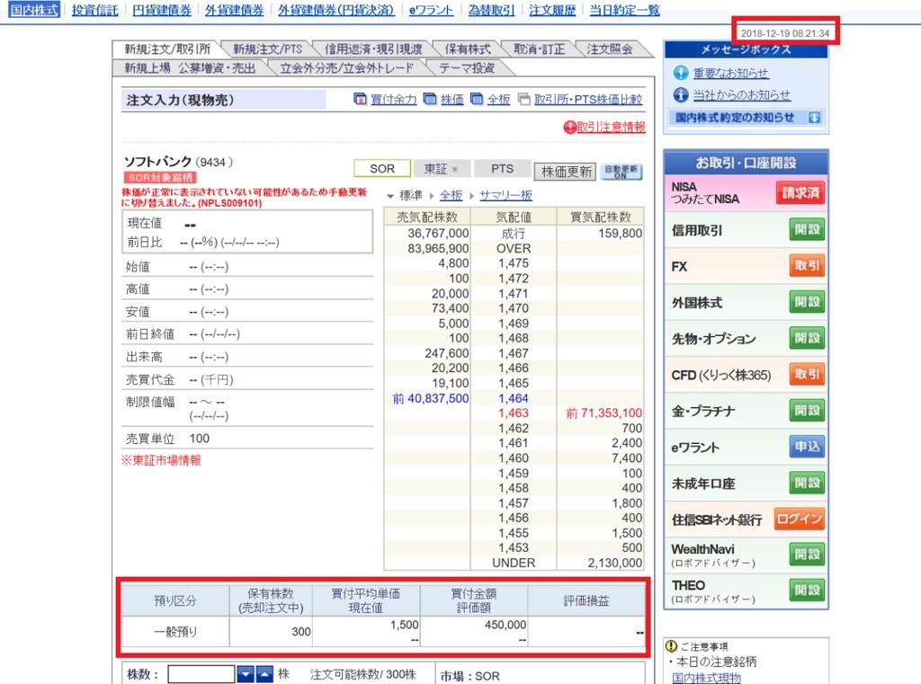 SBI証券 IPO申込手順⑥