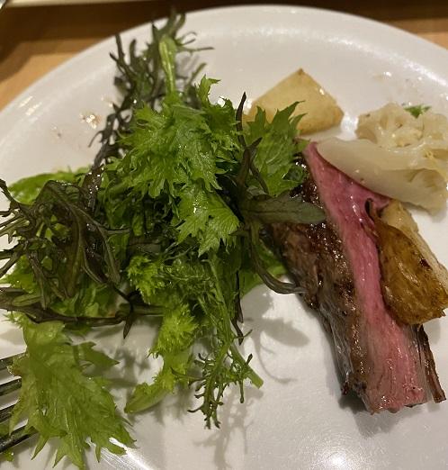 ラ・テラッツァ芦ノ湖 お肉料理