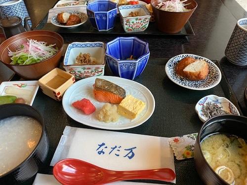ザ・プリンス箱根芦ノ湖 なだ万で朝食