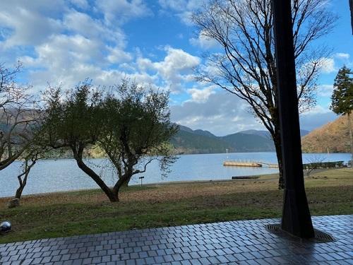 ザ・プリンス箱根芦ノ湖 なだ万からの景色