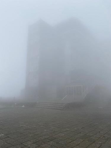 駒ヶ岳ロープウェイ 山頂の駅舎