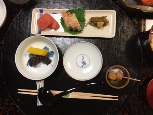 玉庭 朝食(お粥)