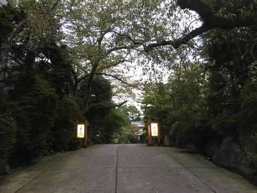 箱根湯本 玉庭 入口