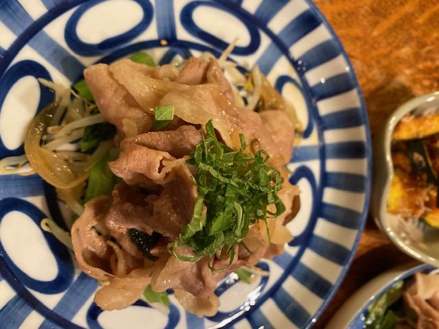 濃厚肉野菜炒め 完成