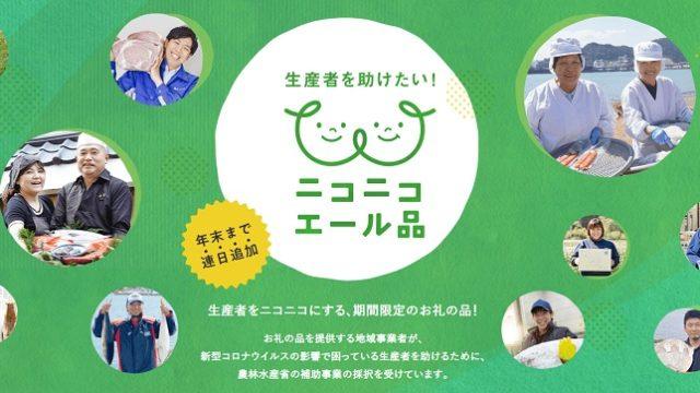 クライマックス!【ふるさとチョイス】ニコニコエール品キャンペーン
