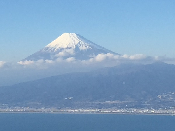 だるま山高原からの富士山